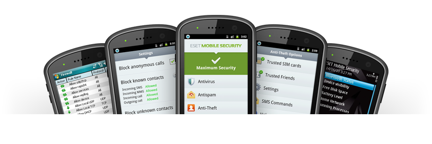 Screenshot Gallery for ESET Mobile Security